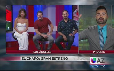 Entrevista a los protagonistas de El Chapo, a pocos días de su gran estreno