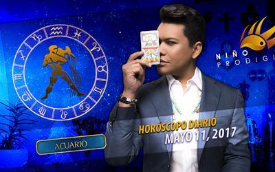 Niño Prodigio - Acuario 11 de mayo 2017