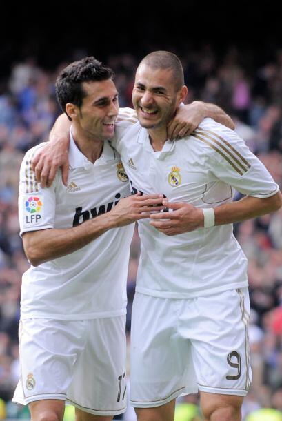 Marcó dos goles más a la cuenta del Madrid.