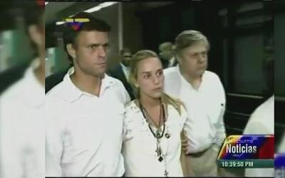 Leopoldo López genera polémica por el supuesto aislamiento