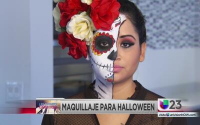 Un minuto contigo: Maquillaje para Halloween