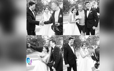 Tom Hanks sorprendió a unos recién casados en el Central Park de NY