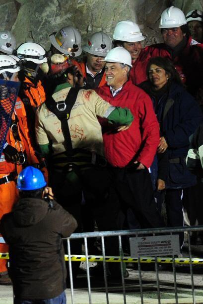 """""""Al igual que las víctimas del terremoto (del 27 de febrero) y que los q..."""
