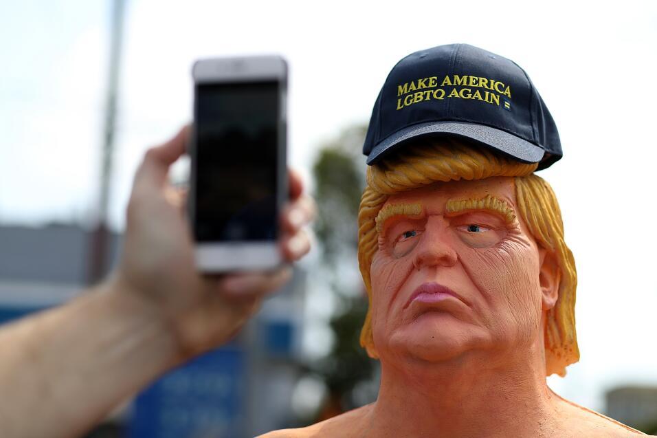 Estatua de Trump en San Francisco