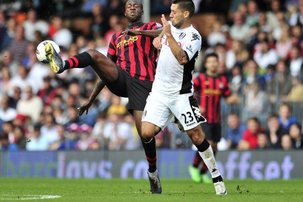 Pero no todo estaba dicho y el Fulham reaccionó, primero con gol...