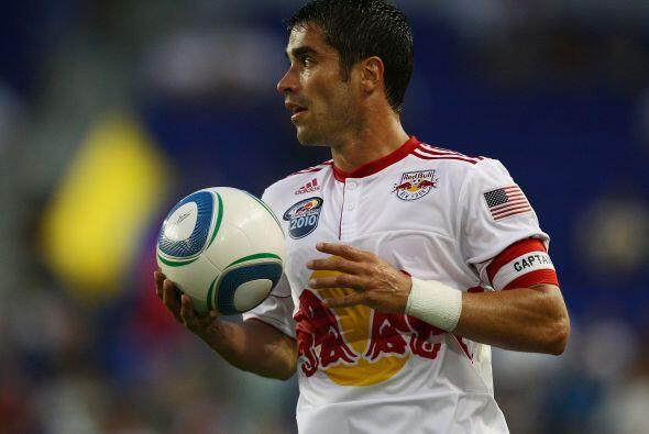 El colombiano Juan Pablo Angel también tuvo momentos destacados e...