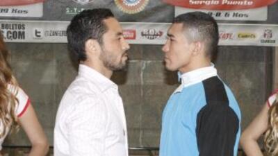 Montiel peleará conra Puente en Monterrey (Foto: Zanfer).