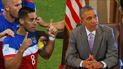 """""""Vamos equipo"""" con estas palabras Obama apoya a la selección de fútbol"""