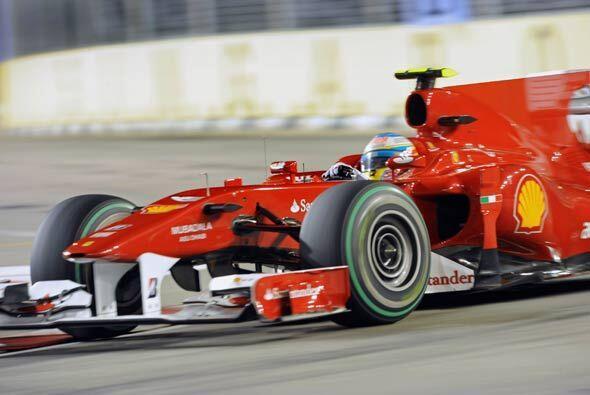 El Ferrari de Alonso le respondió en todo momento a pesar de la p...