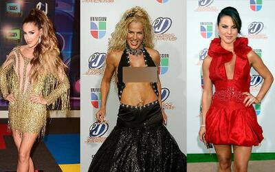 Los vestidos más impactantes de Premios Juventud.