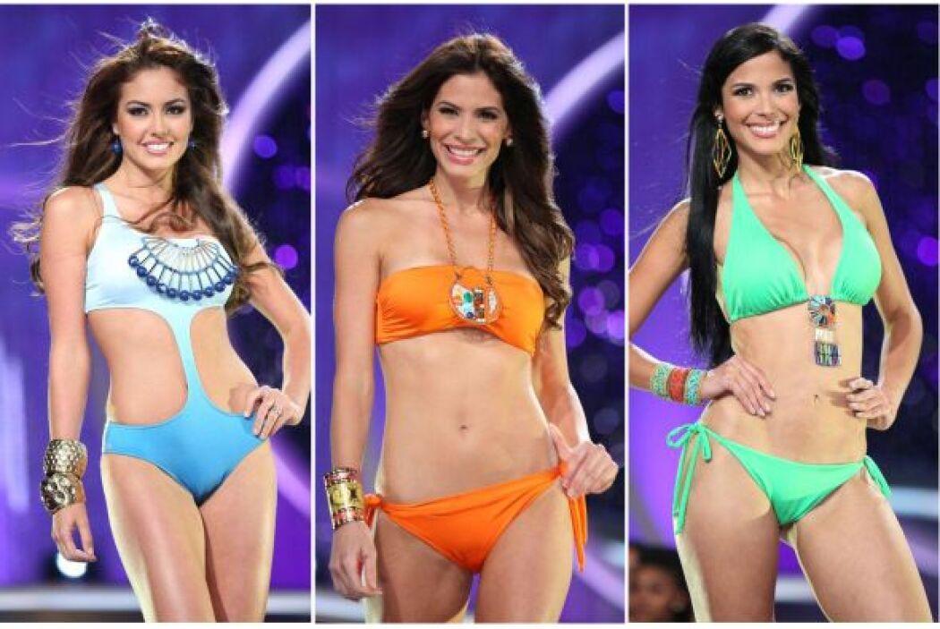 Al finalizar la primera gala llegó el momento del bikini, ese que le enc...