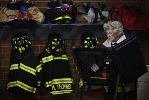 La estación de bomberos de Climax, Carolina del Norte, fue otro de los l...