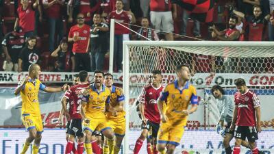 José Rivas marcó el primer gol del partido.