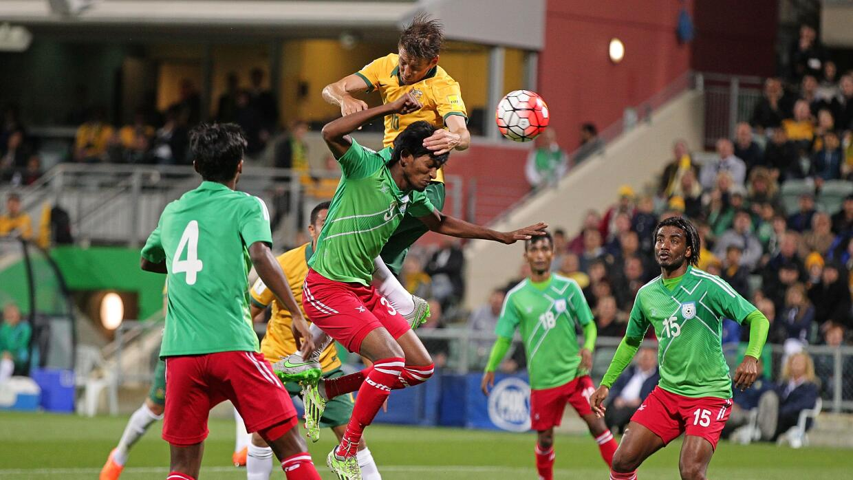 Australia le hizo 5 goles a Bangladesh