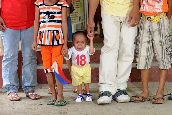 El récord fue otorgado a Balawing en Sindangan, en el sur de Filipinas,...