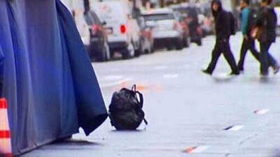 Encuentran nuevamente mochilas solas en el maratón Boston