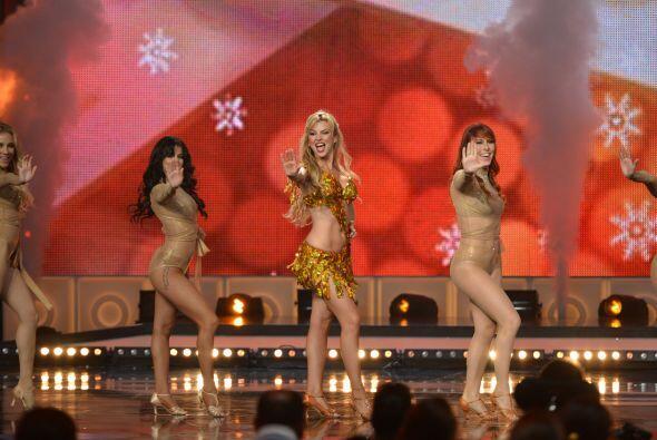 Las mujeres se apoderaron de la pista de baile...
