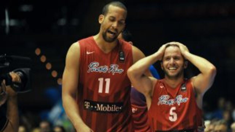 Barea celebra su gran actuación ante Filipinas.