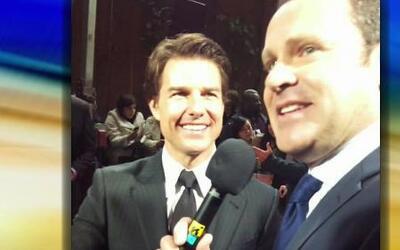 Exclusiva: Tom Cruise invitó a Alan a su avión privado