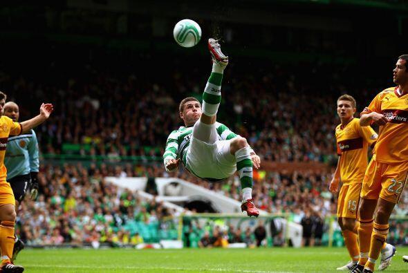 En Escocia se enteraron y los jugdores del Celtics no quisieron quedar f...
