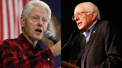 Bill Clinton: los seguidores de Sanders son sexistas