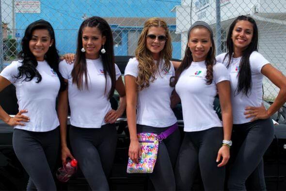 Las finalistas de Nuestra Belleza Latina se sintieron muy felices despu&...