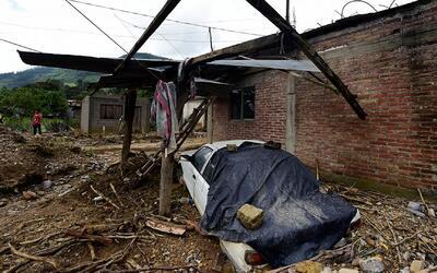 La tormenta tropical Earl deja secuelas en los estados de Veracruz y Pue...