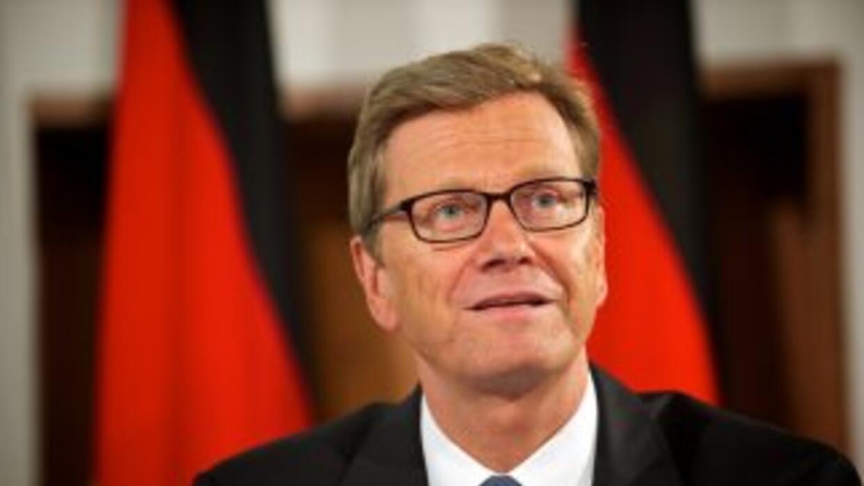 El jefe de la diplomacia alemana reconoció que a Alemania no puede irle...