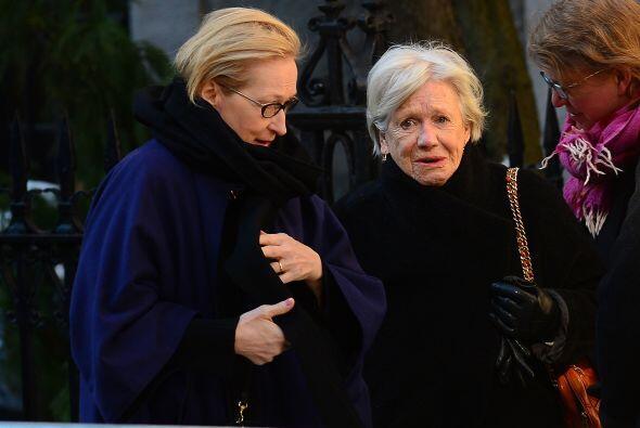 Meryl Streep compartió gratos momentos con Philip. Más videos de Chismes...