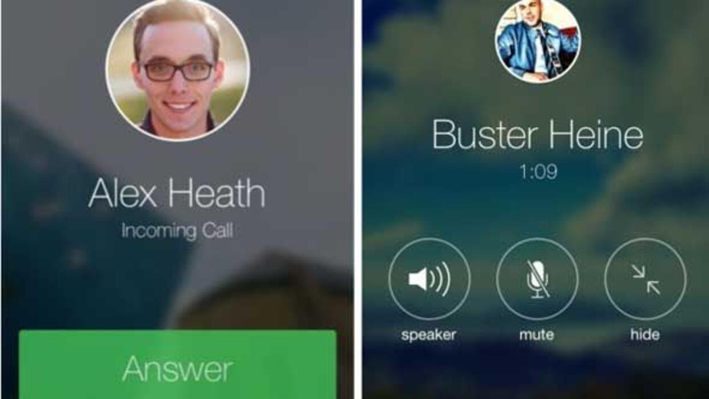 La última actualización de Facebook Messenger permite hacer llamadas gra...