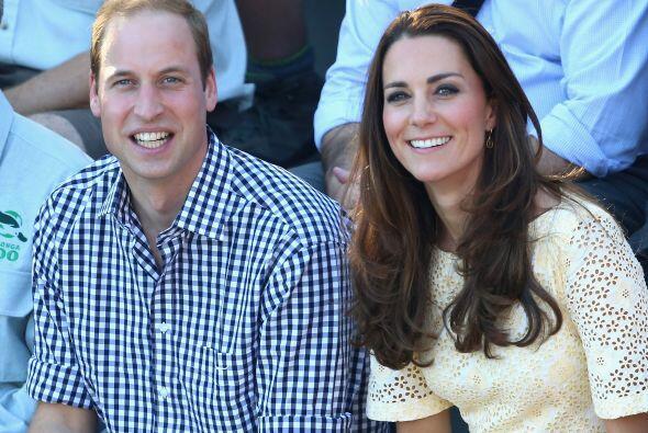 William y Kate dejaron a George con su nana mientras procedía su...