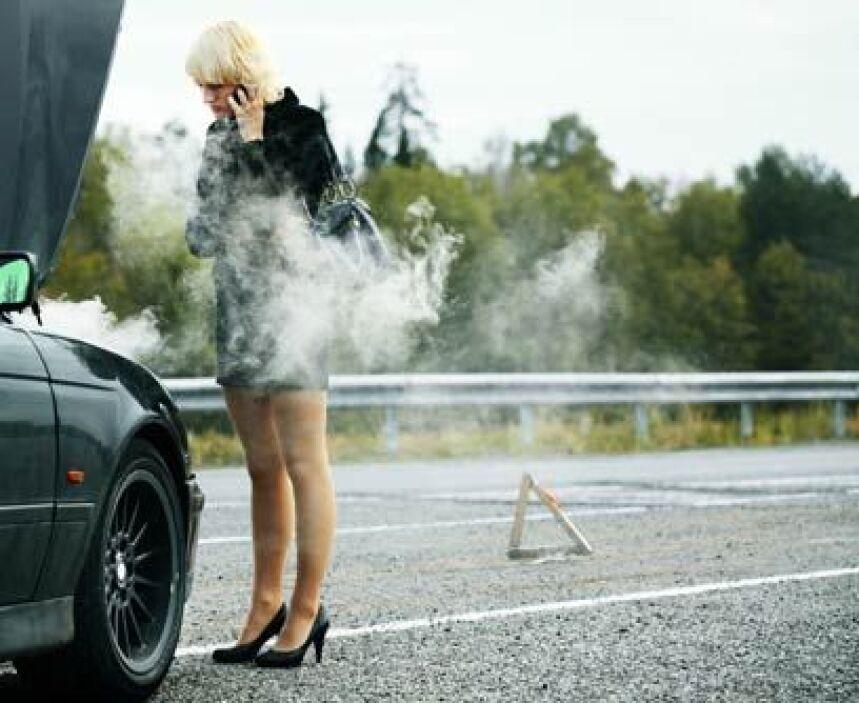 3. El motor se sobrecalienta y no sé porquéCausa: Las causas pueden ser...