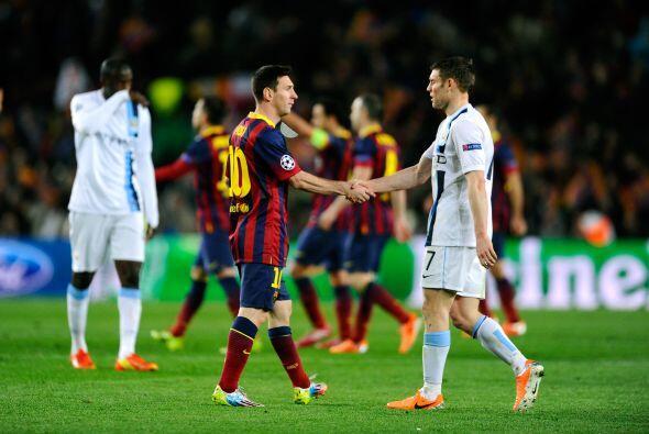 Los catalanes se colocan en esa instancia de Liga de Campeones por sépti...