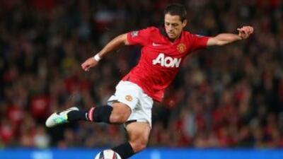 Javier 'Chicharito' Hernández se juega sus cartas en el Manchester United.