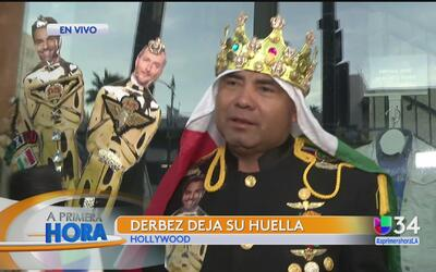 Fans de Eugenio Derbez celebran en Hollywood