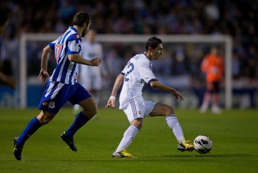 Siguió presionando el Real Madrid en busca del triunfo.