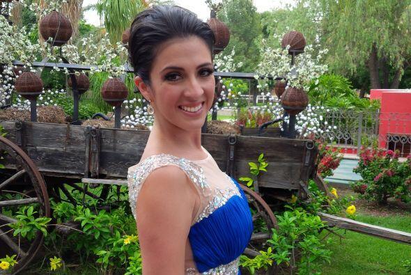 Maity Interiano guapísima, ya en la Hacienda donde se llevará a cabo la...