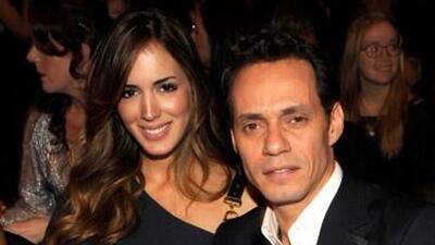 Marc Anthony está muy enamorado de su novia.