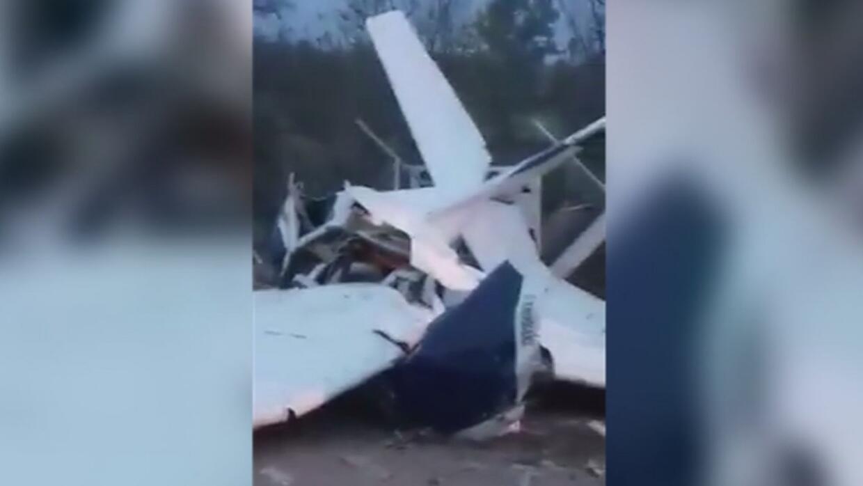 Avioneta cae en picado en México y tres de sus tripulantes mueren en el...