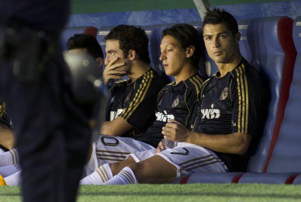 Cristiano Ronaldo salió lastimado en el duelo de mitad de semana...