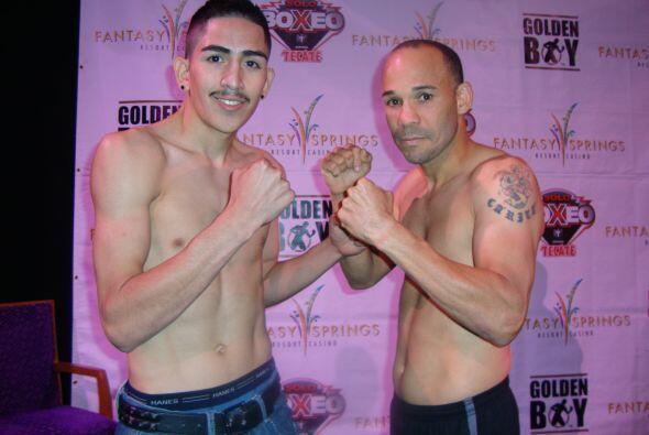 Santa Cruz y López pelearán en peso gallo a 8 rounds.