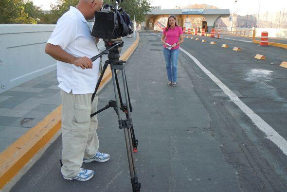 El cruce entre El Paso y Ciudad Juárez se ha convertido en el camino obl...