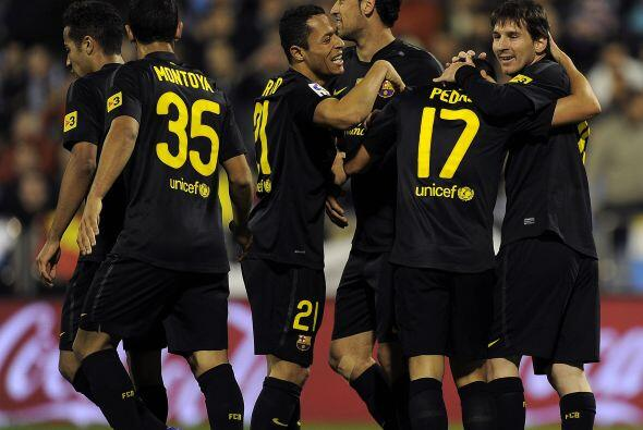 El 4 a 1 lo marcó Pedro en una jugada individual. Gran triunfo 'culé'.