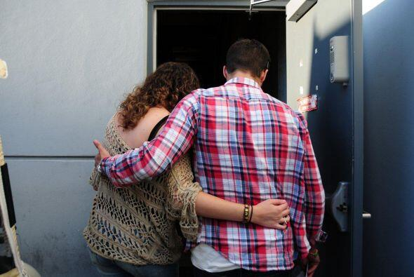Los abrazos fueron la mejor terapia para sobrevivir tres meses de ardua...