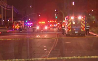 Fuerte incendio en un hotel en Baldwin Park deja siete heridos