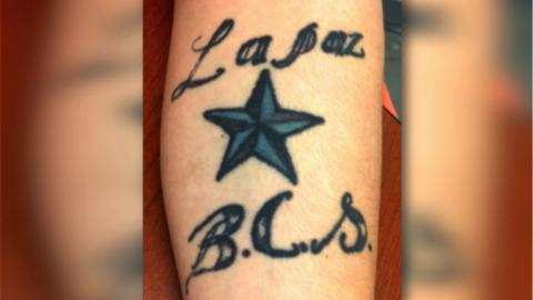 El tatuaje que para ICE es evidencia de que Daniel Ramírez es pan...