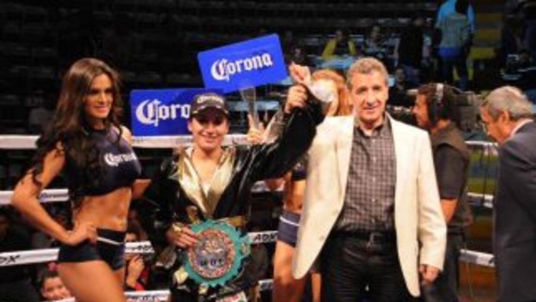 Moreno defendió con éxito el cinturón plata minimosca del CMB (Foto: Fac...