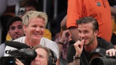 David Beckham y Gordon Ramsay abrirán en septiembre su primer restaurant...