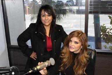 ANA BARBARA en nuestros Estudios de Univision Radio!