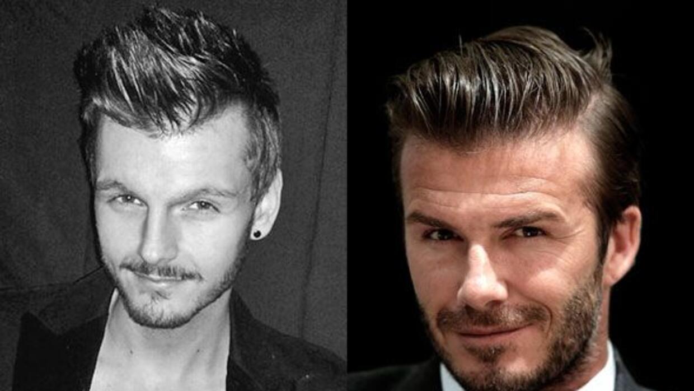 ¿Será Nathan el clon perdido de David Beckham?